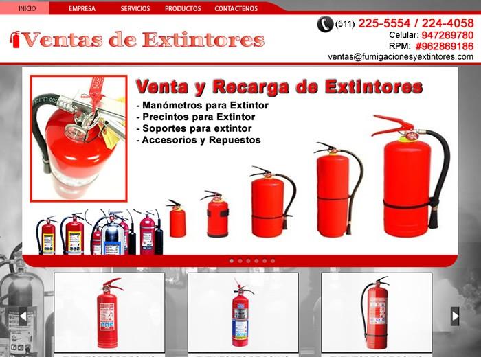 ventas de extintores