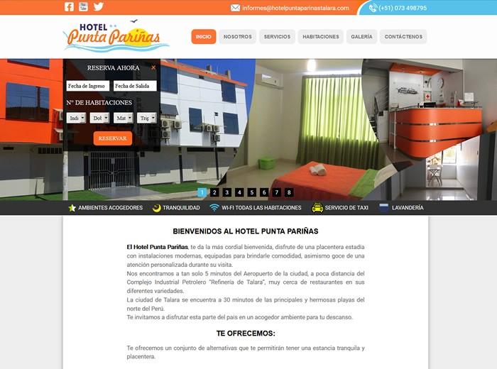 hotel punta pariñas